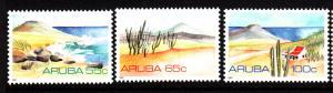Aruba MNH Scott #64-#66 Set of 3 Landscapes: seashore, desert, ocean view