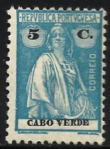 Cape Verde 1914 Scott# 150 MH
