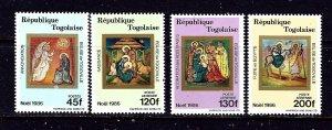 Togo 1410-13 MNH 1986 Christmas