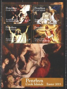 Penrin. 2015. bl 114. Easter, biblical motives. MNH.