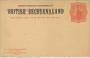 POSTAL STATIONERY: BRITISH BECHUANALAND