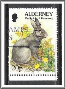 Alderney #81a Flora & Fauna Used