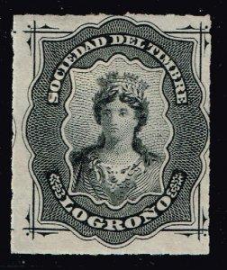 SPAIN STAMP ESPAÑA: FISCALES. SOCIEDAD DEL TIMBRE 1876 MH/OG  LOGRONO