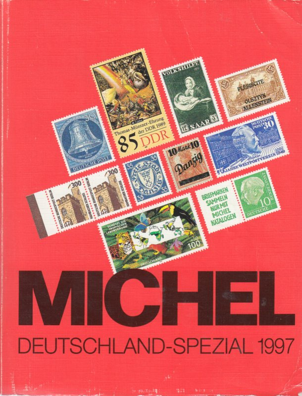 Michel Deutschland Spezial 1997, specialized stamp catalog for Germany & States