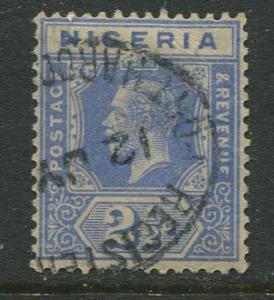 Nigeria -Scott 24 - KGV Definitive -1921 - Used - Single 2.1/2p Stamp