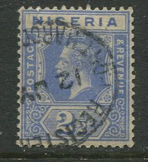 Nigeria -Scott 24 - KGV Definitive -1921 - Used - Single 2.1/2p Stamp