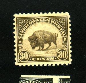 U.S. #569 MINT F-VF OG NH Cat $50