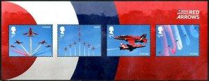 HERRICKSTAMP GREAT BRITAIN Sc.# 3710 Royal Air Force Centenary S/S