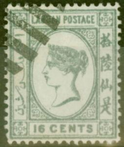 Labuan 1892 16c Grey SG46 V.F.U