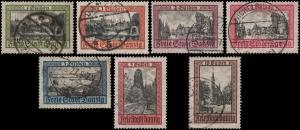 Danzig 193-199 used