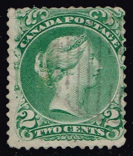 Canada #24 Queen Victoria; Used (100.00)