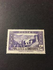 Andorra French Adm sc 60 C MHR