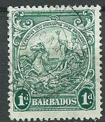 Barbados SG 249b  Used perf 13 1/2