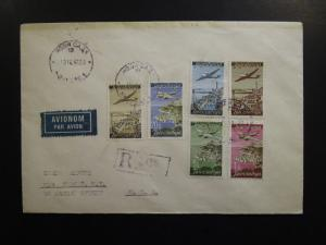 Yugoslavia 1948 Airmail Series On Cover to USA - Z6423