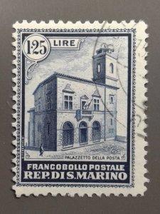 San Marino - 136 F-VF Used . Scott $ 175.00.