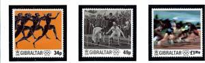 Gibraltar 711-13 MNH 1996 Olympics