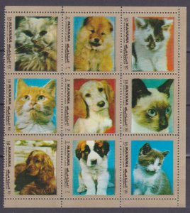 1972 Manama A-H944ZB Cats and dogs 9,00 €