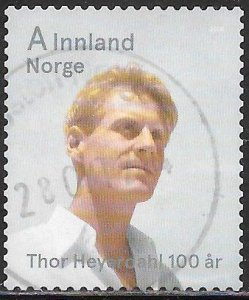 Norway 1738 Used - Thor Heyerdahl Centenary - Thor Heyerdahl (1914-2002)