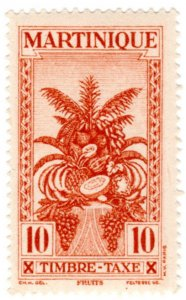 Martinique Scott J27 (1933: Air Post Semi-Postal - Tropical Fruit)
