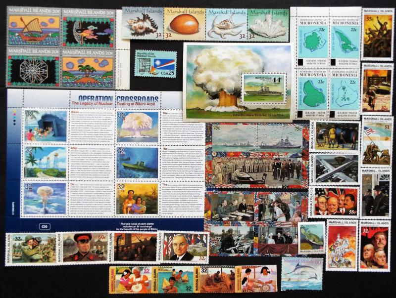 MARSHALL ISLANDS MNH Stamps