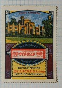 Byrolin Skin Care The Best German Dr Graf German Brand Poster Stamp Ads