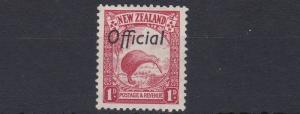 NEW ZEALAND  1936    S G  0121  1D   SCARLET      MH