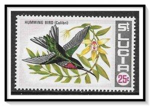 St Lucia #243 Humming Bird MNH