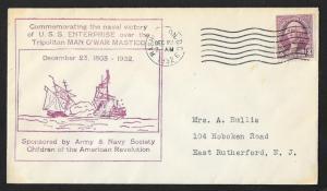 UNITED STATES Event Cover Commemorating USS Enterprise 1932 Washington DC