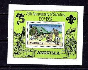 Anguilla 506 MNH 1982 Scouting Year S/S