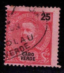 Cabo Verde Cape Verde Scott 43 Used perf 11.5