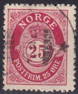 Norway #88 F-VF Used  (K2837)