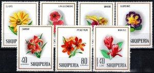 Albania #1148-54 MNH CV $4.50 (X2572)