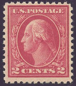 US Scott #500 Mint, FVF, Light Hinge