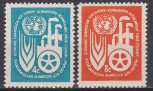 UN #71-2 MNH VF (ST1069)