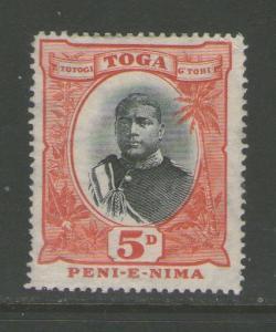 Tonga 1897 SG 46 MH