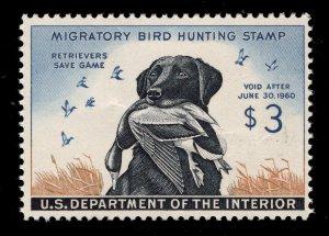 U.S. # RW26 Duck Stamp - $3.00 Multicolor - Mint - O.G. - N.H. - Cat:$130.00