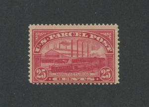 1913 United States Parcel Post Stamp #Q9 Mint Hinged Fine Original Gum