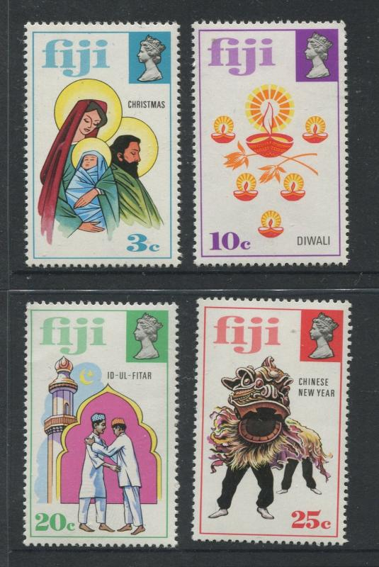 Fiji - Scott 337-340 - General Issue 1973 - MNH - Set of 4 Stamps