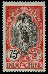 Indo-China Sc #54 NG Mint VF SCV$14...French Colonies are Hot!