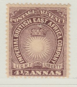 British Colony East Africa KUT 1893 4 1/2a MH* Stamp A22P18F8908