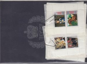 GB 1977 QEII Jubilee Cinderella Total Souvenir Book Plus Extra Rare J2716