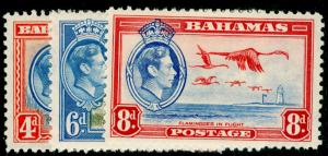 BAHAMAS SG159-160, COMPLETE SET, M MINT. Cat £17