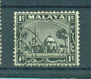 Malaya - Selangor sc# 45 mng cat value $.30