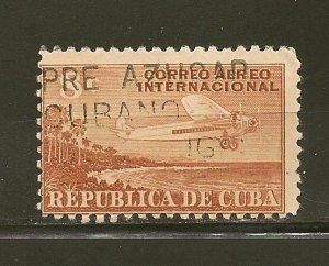 Cuba C40 Airmail Used