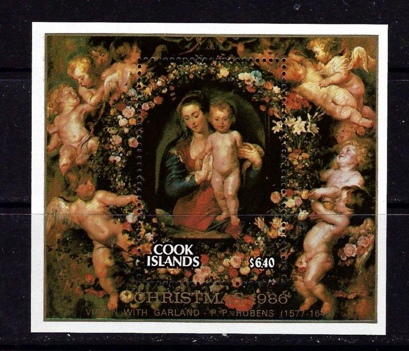 Cook Is 923 MNH 1986 Christmas S/S