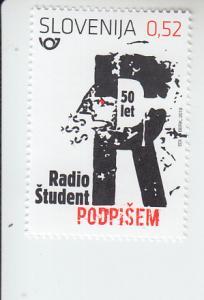 2019 Slovenia Radio Student (Scott NA) MNH