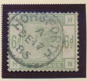 Great Britain Stamp Scott #105, Used - Free U.S. Shipping, Free Worldwide Shi...