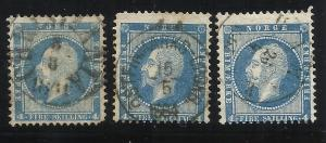 Norway 4  4sk 3 Copies Used Avg-F/VF Centering