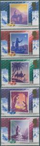 Great Britain 1988 SG1414-1418 QEII Christmas set MNH