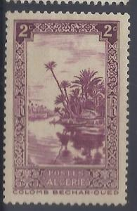 Algeria # 80 Unused - 1936 2c Oued River at Colomb-Bechar